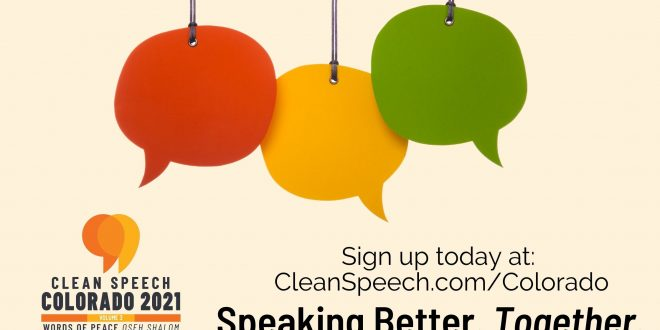 Clean Speech Colorado, Volume 3 | Oseh Shalom, Words of Peace