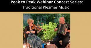 CU Boulder Program in Jewish Studies Offers Webinar Concert on Traditional Klezmer Music